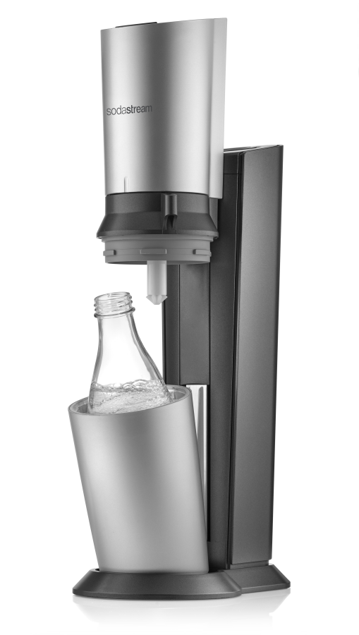 sodastream crystal titan silver titanov st brn v robn k s dy. Black Bedroom Furniture Sets. Home Design Ideas