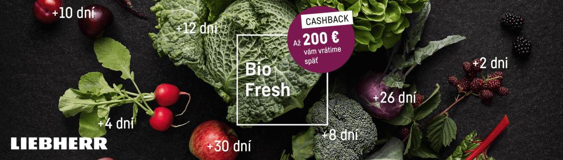 Cashback až do 200 € na chladničky Liebherr