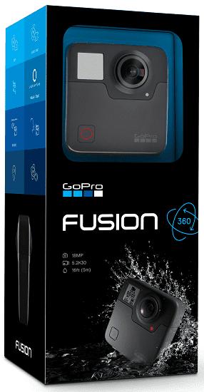88dfd6e6f GoPro Fusion · zobraziť ďalšie obrázky (+7) ...
