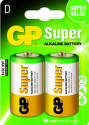 GP B1341 Super Alkaline D (LR20), 2ks