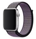 Apple Watch 44 mm Nike športový prevliekací remienok, pieskovo béžový/Volt