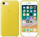 Apple kožené puzdro pre iPhone 7/8, žltá