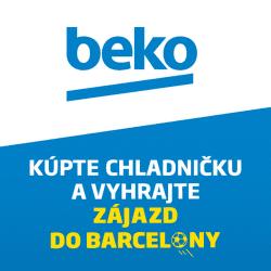 Vyhrajte zájazd do Barcelony za nákup chladničky Beko
