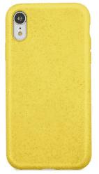 Forever Bioio zadný kryt pre Apple iPhone Xs a X, žltá
