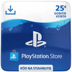 Sony PlayStation Store 25 eur - Digitální produkt