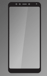 Qsklo ochranné sklo pre Xiaomi Redmi 5, čierna