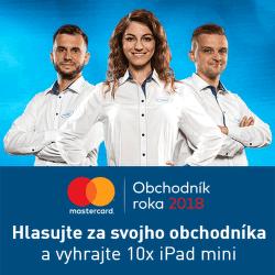 MasterCard obchodník roka 2018
