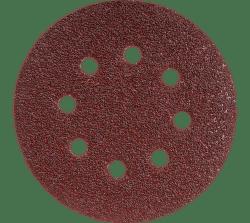 GRAPHITE Vulkanfibrové kotúče, 125 mm, K120, s otvormi, 3 ks