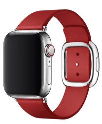 Apple Watch kožený remienok 40/38 mm veľ. S, (PRODUCT)RED