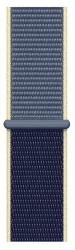 Apple Watch 40 mm športový prevliekací remienok, modrý