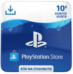 Sony PlayStation Store 10 eur - Digitálny produkt