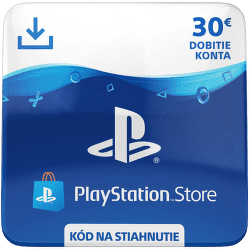 Sony PlayStation Store 30 eur - Digitální produkt