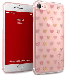 i-Paint Glamour puzdro pre Apple iPhone 7, ružová