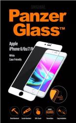 PanzeGlass tvrdené sklo pre iPhone 8/7/6/6s, biele