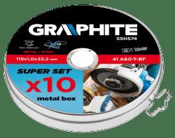 GRAPHITE 115x1.0x22.2mm 10ks, Rezací kotúč