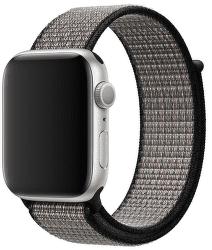 Apple Watch 44 mm Nike športový prevliekací remienok, modrý/lávovo oranžový