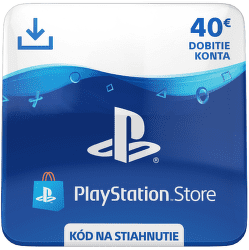 Sony PlayStation Store 40 eur - Digitální produkt