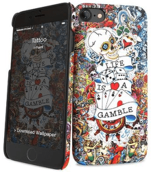 i-Paint Hard Case Tattoo puzdro pre Samsung Galaxy S8
