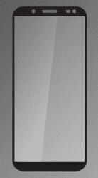 Qsklo ochranné sklo pre Samsung Galaxy J6 2018, čierna