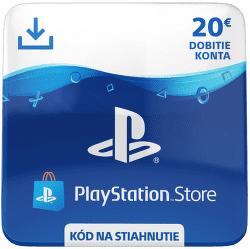 Sony PlayStation Store 20 eur - Digitální produkt