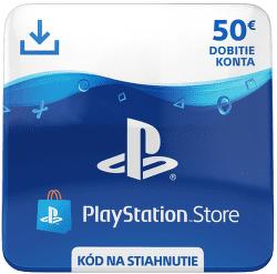 Sony PlayStation Store 50 eur - Digitální produkt