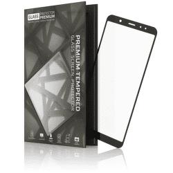 TGP tvrdené sklo pre Samsung Galaxy A6 2018, čierne