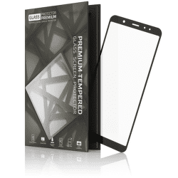 TGP tvrdené sklo pre Samsung Galaxy A6+ 2018, čierne