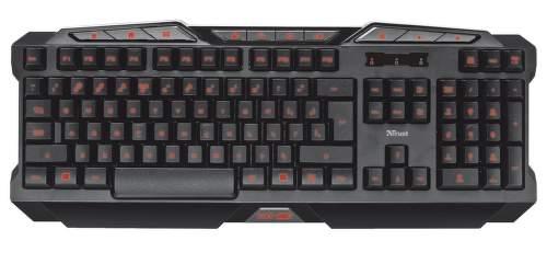 Trust GXT 280 gaming, 20502 – CZ-SK klávesnice