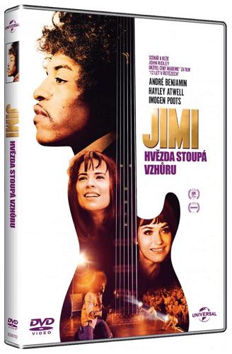 Jimi: Hvězda stoupá vzhůru - DVD film