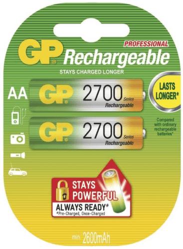GP AA 2700mAh/2 B1407