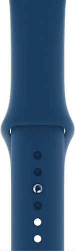 Apple Watch 44 mm športový remienok, podvečerne modrý