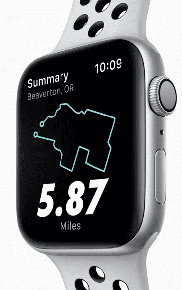 Apple Watch Series 4 Nike+ 40mm vesmírně šedý hliník antracitový ... 71e840deee