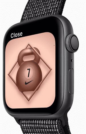 068f1917448 Apple Watch Series 4 Nike+ 44mm vesmírně šedý hliník černý ...