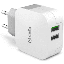 Celly Turbo nabíjačka 2x USB 3.4 A