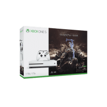 Microsoft Xbox One S 1 TB biely + Middle-Earth: Shadow of War