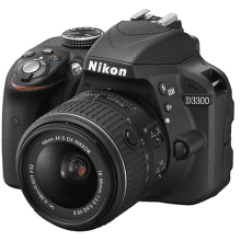 NIKON D3300 + 18–55 VR II + 55-300VR