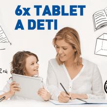 6x tablet a deti