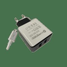 Carneo DA02EU + micro USB kábel 2A (mix farieb)