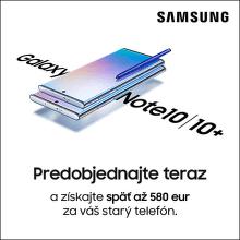 Prijímame predobjednávky na Samsung Galaxy Note10