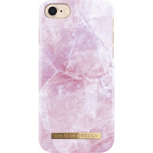iDeal of Sweden Fashion puzdro pre iPhone 7, Pink marble