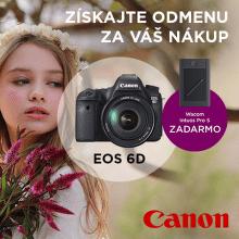 Darček k fotoaparátom Canon