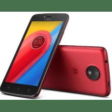 MOTOROLA Moto C 4G červený