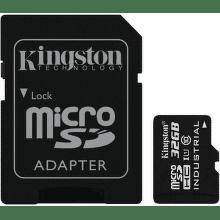 Kingston Industrial Temp micro SDHC 32GB 90 MB/s UHS-I Class 10