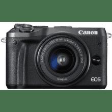 Canon EOS M6 + EF-M 15-45 f/3,5-6,3 IS STM čierny