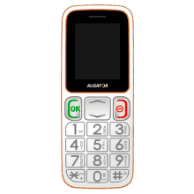 ALIGATOR A320 Senior White-Orange