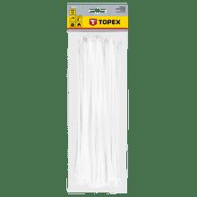 TOPEX 4,8 x 300 mm 75 ks, biela