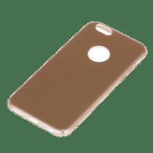 Winner iPhone 6/6S Velvet hnedé puzdro na mobil
