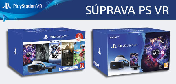 Set PS4 VR